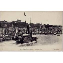 76 - Trouville -sur-Mer - L'avant-Port - Non voyagé - Dos divisé