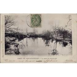 77 - Fontainebleau - La mare de Franchard - Voyagé - Dos non divisé
