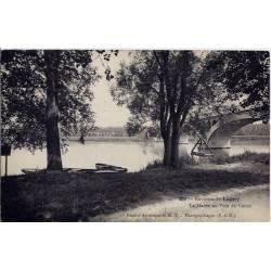 77 - Environs de Lagny - La Marne au pont de Vaires - Voyagé - Dos divisé