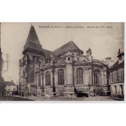 78 - Houdan - Eglise gothique - Abside du XVIeme siècle - Voyagé - Dos divisé