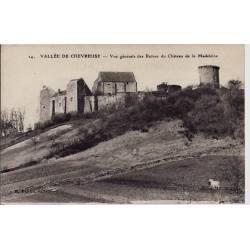 78 - Vallée de Chevreuse - Vue générale des ruines du château de la Madeleine