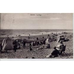 80 - Onival - La plage - Voyagé - Dos divisé