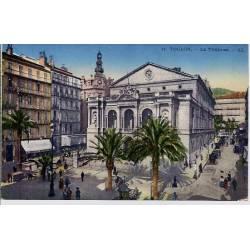 83 - Toulon - Le théatre - Non voyagé - Dos divisé