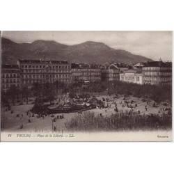 83 - Toulon - Place de la liberté - Non voyagé - Dos divisé