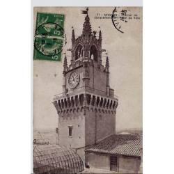 84 - Avignon - Clocher de Jacquemard et l'hôtel de ville - Voyagé - Dos divisé