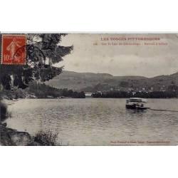 88 - Les Vosges pittoresques - Sur le lac de Gérardmer - Bateau à hélice - Voy