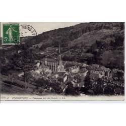 88 - Plombières - Panorama pris du chonot - Voyagé - Dos divisé