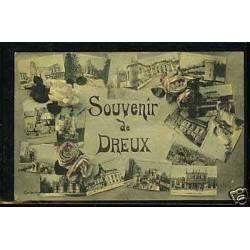 27 - Souvenir de Dreux - Carte multivue