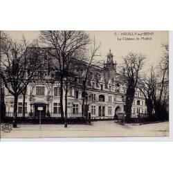 92 - Neuilly-sur-seine - Le château de Madrid - Voyagé - Dos divisé