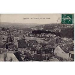 92 - Meudon - Vue générale prise de la terrasse - Voyagé - Dos divisé