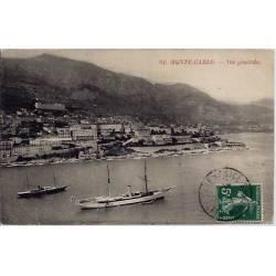 Monaco - Monte-Carlo - Vue générale - Voyagé - Dos divisé