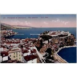 Monaco - Principauté de Monaco - Vue générale - Non voyagé - Dos divisé