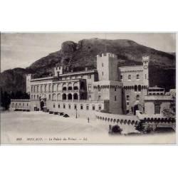 Monaco - Le palais du Prince - Non voyagé - Dos divisé