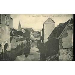 28 - Chartres - Vue prise du Pont Saint Hilaire
