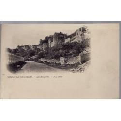 02 - Coucy-le-Château - Les remparts - Non voyagé - Dos non divisé...