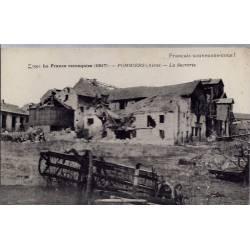 """02 - Pommiers - La France reconquise (1917) - La sucrerie -  """" Français souv..."""