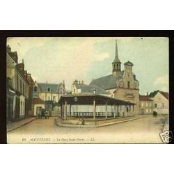 28 - Maintenon - La place Saint-Pierre