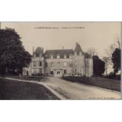 02 - La Ferté-Milon - Château de la Ferté-Milon - Non voyagé - Dos divisé...