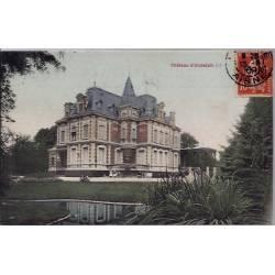 02 - Andelain - Le château d'Andelain - Voyagé - Dos divisé...