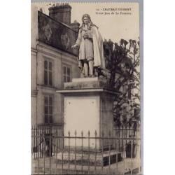 02 - Château-Thierry - Statue Jean de la Fontaine - Non voyagé - Dos divisé...