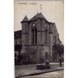 02 - Longpont - L'église - Voyagé - Dos divisé...