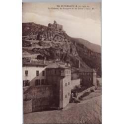 04 - Entrevaux - Le château - Les remparts et les tours - Non voyagé - Dos d...