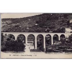 07 - Privas - Pont de Bourdely - Voyagé - Dos divisé...
