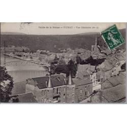 08 - Fumay - Vallée de la Meuse - Vue générale - Voyagé - Dos divisé...