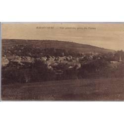 08 - Haraucourt - Vue générale, prise du Terme - Non voyagé - Dos divisé...