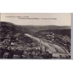08 - Château-Regnault-Bogny - Vue prise de l' Ermitage - Non voyagé - Dos di...