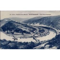 08 - Monthermé - Vallée de la Meuse - Vue panoramique - Voyagé - Dos divisé...