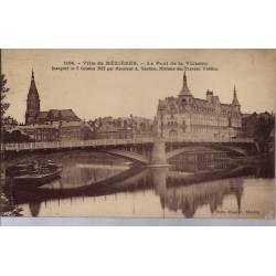 08 - Mézière - Le pont de la Victoire - Voyagé - Dos divisé...