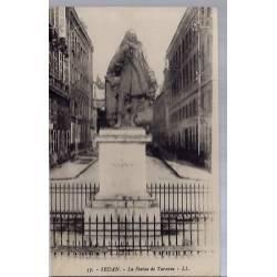 08 - Sedan - La  statue de Turenne - Non voyagé - Dos divisé...