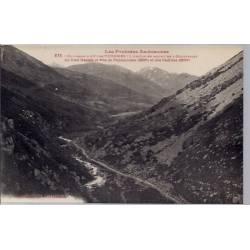 09 - Environs d' Ax-les-Thermes - L' Ariège en Amont de l' Hospitalet au fon...