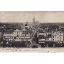 10 - Troyes - Vue générale - Prise du Beffroi de Saint-Jean - Voyagé - Dos n...
