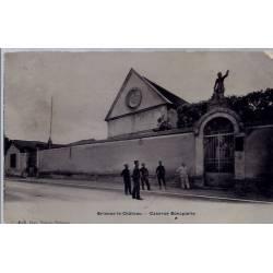 10 - Brienne le château - Caserne Bonaparte - Voyagé - Dos divisé...
