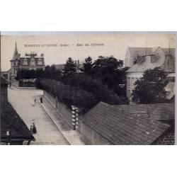 10 - Romilly-sur-seine - Rue du Calvaire - Voyagé - Dos divisé...