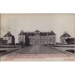10 - Brienne-le-château - Le château - façade principale- Voyagé - Dos divis...