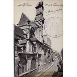 10 - Troyes - L' église St-Jean - Le Beffroi - Non voyagé - Dos divisé...
