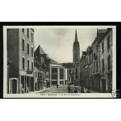 29 - Quimper - La rue de Douarnenez