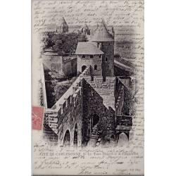 11 - Cité de Carcassonne - Les Tours visigotb et de l'inquisition - Voyagé -...