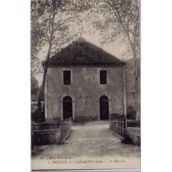 11 - Hôpital de Campagne - 1ere division - Voyagé - Dos divisé...