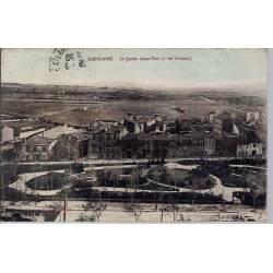 11 - Narbonne - Le jardin Saint-Paul ( à vol d'oiseau) - Voyagé - Dos divisé...