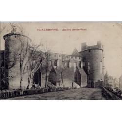 11 - Narbonne - Ancien Archevêché - Voyagé - Dos divisé...