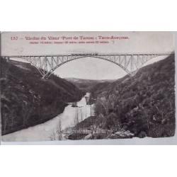 12- Viaduc du Viaur - Pont de Tanus -Tarn-Aveyron - Voyagé - Dos divisé...