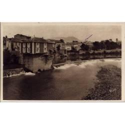 12- Millau - Le vieux moulin et le Tarn - Voyagé - Dos divisé...