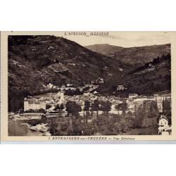 12- Entraygues-sur-Truyère - Vue générale - Non voyagé - Dos divisé...