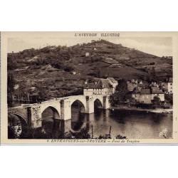 12- Entraygues-sur-Truyère - Font de Truyère - Non voyagé - Dos divisé...
