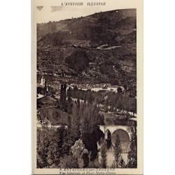 12- Entaygues-sur-Truyère - Vue générale et pont Notre-Dame - Non voyagé - D...