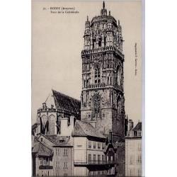 12 - Rodez - Tour de la cathédrale - Non voyagé - Dos divisé...